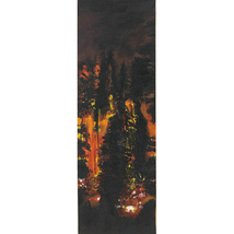 Wildfire; An Original Painting 30 by 10 inches - $1,300.00