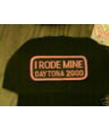 I Rode Mine 2000 Daytona Alt Aufnäher Neu Flex-Fit Kappe - $21.31
