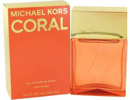 Michael Kors Coral 3.4 Oz Eau De Parfum Spray - $74.94