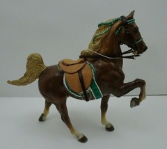 Custom Breyer Horse CM Traditional Trotting Belgian with Custom Tack - $25.00