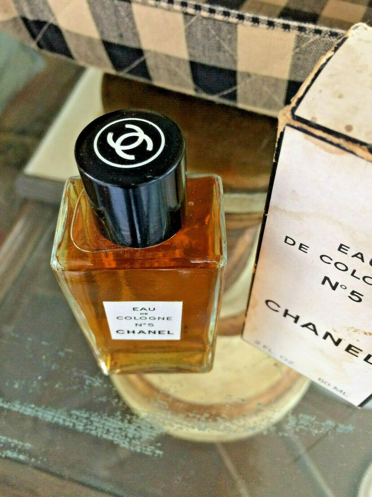 Vintage mid-century!! CHANEL No 5 Perfume 2 oz - OLD FORMULA FRANCE New NIP image 3