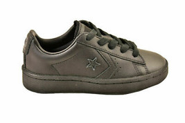 Converse Youth CTAS Pro PL 76 Sneakers Leather Black Size EU 28.5 - $49.48