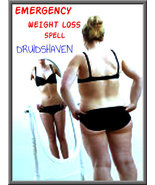 Extreme WEIGHT LOSS Spell, Full coven witchcraft spell rapid fat lose wi... - $77.00