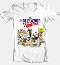 Hollywood Knights T-shirt retro 1980s 1970s movie cotton white graphic tee image 2