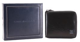 Tommy Hilfiger Men's Leather Zip Around Wallet Passcase Billfold Rfid 31TL130047 image 4