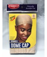 RED BY KISS SPANDEX DOME CAP ONE SIZE HSD06 BEIGE - $1.97