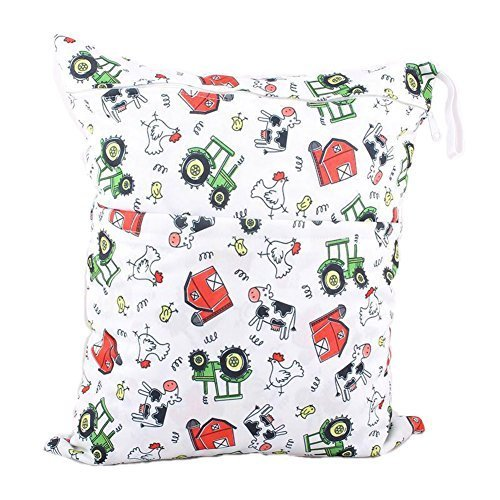 "Funny Chicken Wet Bags Waterproof Diaper Bag Multi-Function Nappy Bag-14""11"""