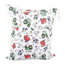 "Funny Chicken Wet Bags Waterproof Diaper Bag Multi-Function Nappy Bag-14""11"""