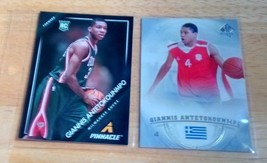 Giannis Antetokounmpo LOT(2) Rookie Cards Mint Condition US Free Shipping - $27.08