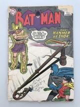 Batman (1940) #127 Thor Low Grade Cover Detatched - $34.65