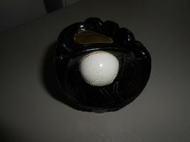 Avon Baseball Glove and Ball Liquid Hair Trainer Empty Glass Decanter - $5.94