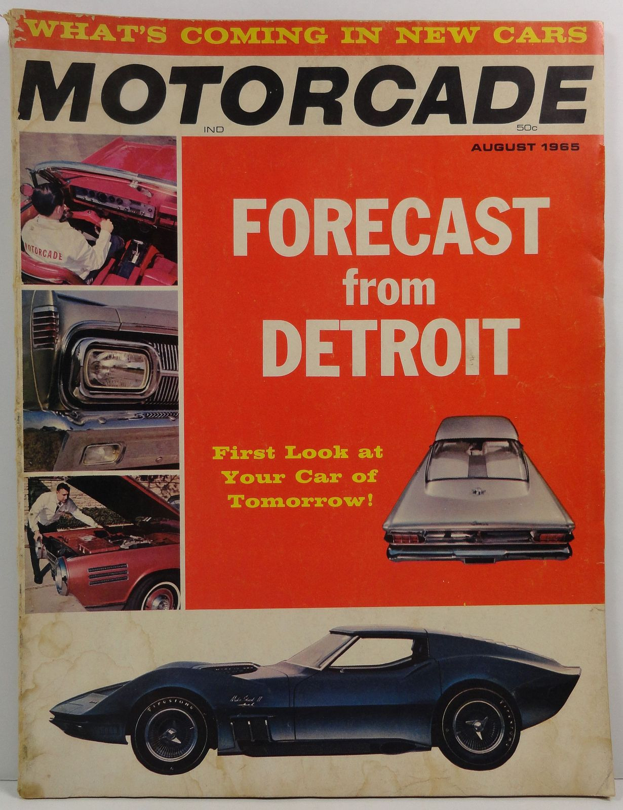 Motorcade Magazine August 1965 Forecast from Detroit