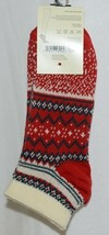 Simply Noelle Brand Red Green Color One Size Fits Most Womens  Ankle Socks image 1