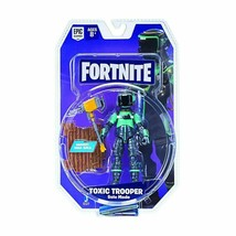 Fortnite Toxic Trooper Solo Mode 4 Inch Action Figure ~ Mib Moc ~ Epic Games - $13.85
