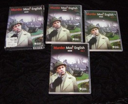 Murder Most English A Flaxborough Chronicle 3 DVD Box Set BBC Acorn Media - $19.99