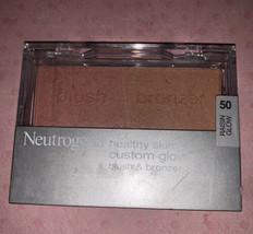 Neutrogena 50 RAISIN GLOW Healthy Skin Custom Glow Blush & Bronzer RARE - $54.61