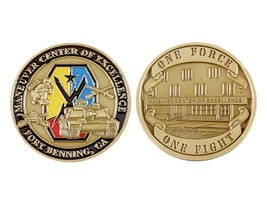 Challenge Coin Fort Benning Maneuver Center of Excellence Coin - $17.91