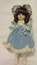 """Gorham Porcelain 14"""" Doll  ALISSA Musical Inspired """"SPEAK SOFTLY LOVE"""" #... - $128.67"""