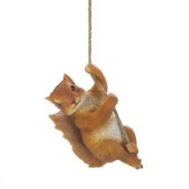 Decorative Hanging Decor, Squirrel Outdoor Small Home Patio Hanging Porc... - $31.49