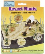 Woodland Scenics SP4124 Desert Plants Diorama Kit - $22.49