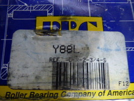 RBC Y88L Bearings Cylindrical Yoke Roller Chrome Steel New image 2