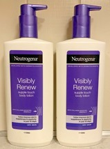 (2) Neutrogena Visibly Renew Supple Touch Body Lotion Dry Skin With Pump 13.5 Oz - $29.95