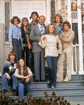 Dick Van Patten and Lani O'Grady and Willie Aames in Eight Is Enough cast by - $69.99