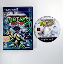 Teenage Mutant Ninja Turtles Smash-Up (Sony PlayStation 2 PS2, 2009) Bla... - $12.30