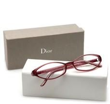 New Christian Dior CD3043 80U Burgundy Eyeglasses Frame 53-15-135 B26mm - $112.69