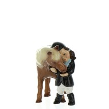 Hagen Renaker Specialty  Horse Girl and Her Pony Ceramic Figurine image 9