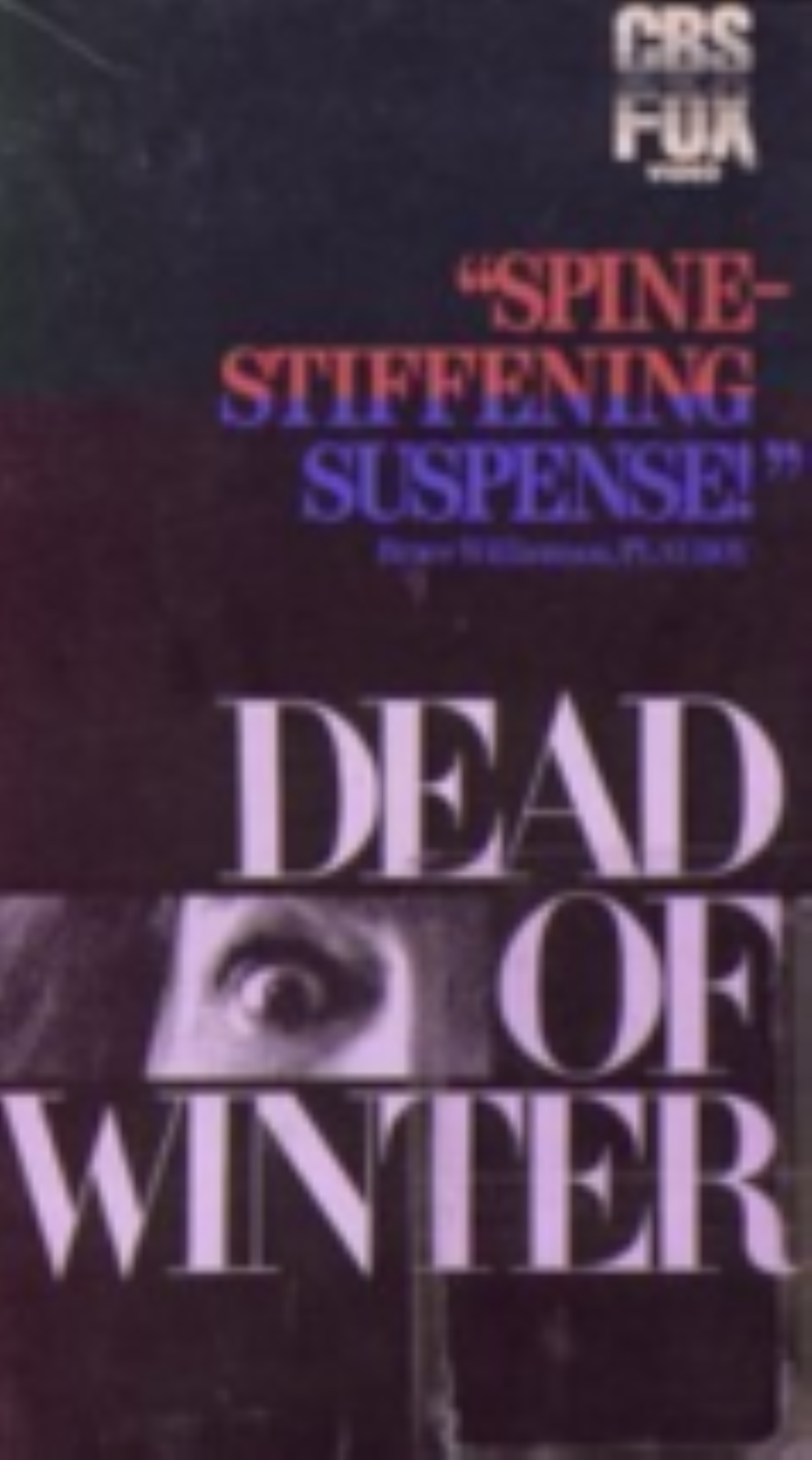 Dead of Winter Vhs