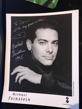 RARE Michael Feinstein signed autographed 8x10 photo, JSA ALOA AA94 - $38.69