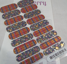 Jamberry Brisk Amber 0917 21B6  Nail Wrap Full Sheet - $13.45