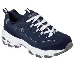 11936 Marine D' Lites Skechers Chaussures Femme Sport Confortable Décontracté - $44.80