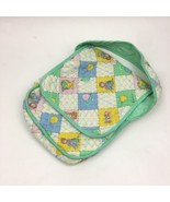 Cabbage Patch Dolls Play Diaper Bag Carrying Cloth Quilted Bag Tote Vint... - $18.69