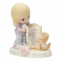 """Precious Moments, Birthday Gifts, """"Growing In Grace, Age 11"""", Bisque Por... - $69.40"""