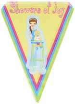 Showers Of Joy Pennant Banner Party Accessory (1 count) (1/Pkg) - $7.83