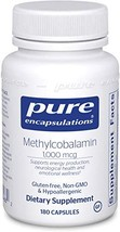 Pure Encapsulations - Methylcobalamin - Advanced Vitamin B12 for a Healthy Nervo