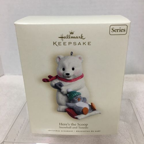 Primary image for 2007 Snowball and Tuxedo #7 Hallmark Christmas Tree Ornament MIB Price Tag H2