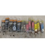 13 NEW ink cartridges PGI-220BK CLI-221BK CLI-221Y CLI-221C CLI-22M (AL) - $7.92