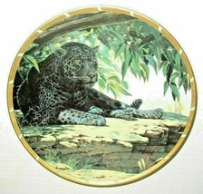 Lenox Royal Cats Siesta Collectors Plate by Guy Coheleach, Leopard EUC - $17.65