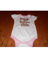 Baltimore Orioles MLB Baseball Baby Girl Pink Romper Creeper Bodysuit 3-... - $9.89