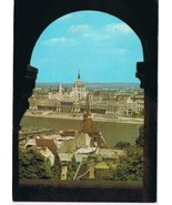 Hungary Postcard Budapest View Of Parliament - $3.79