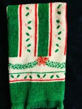 Vintage, Christmas  hand towel, 11x18 - $5.00