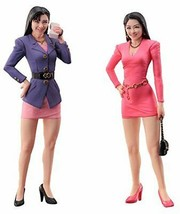 *Hasegawa 1/24 80's Bubbly Girl Figures Plastic Model FC01 - $22.14