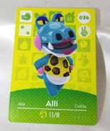 036 - Alli - Series 1 Animal Crossing Villager Amiibo Card - $29.99
