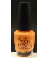 2x TWO NEW O.P.I. opi Nail Lacquer # NL H68 Is Mai Tai Crooked? - 2 bottles - $13.77