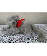 Ty Beanie Baby Beani the Gray Long Haired Cat NO TAG - $12.86