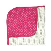 Child Of Mine Carter's Pink Flower Black White Polka Dot Cotton One Size... - $12.60