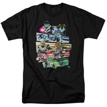 Voltron cast t-shirt Animated TV series retro 80s graphic tee DRM325 image 1